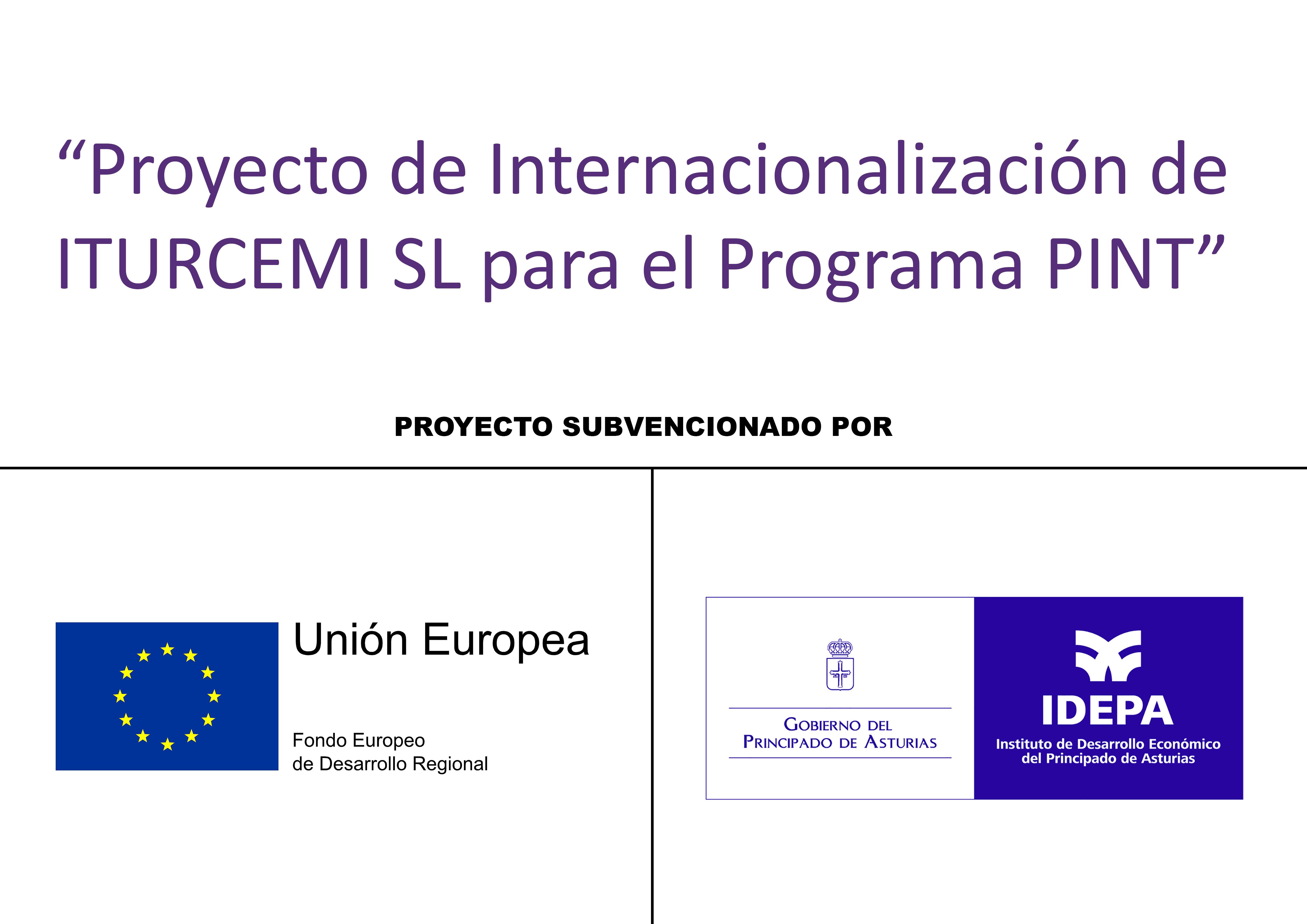 Logotipo IDEPA y la UE